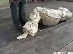 Sasha slut in a bag