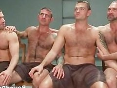Gay BDSM groupsex video 1 by BoundPride part4