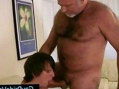 Old gay bear getting his dick sucked by twink gaypridevault part5