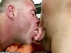 Muscular gay guy gets fucked in the ass by straight dude
