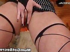 Amazing pierced pussy MILF sucking part4