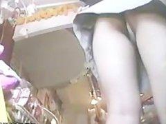 Innocent teen girls upskirt