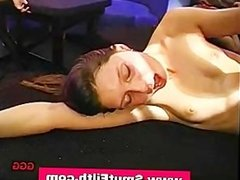 Bukkake cum sluts fucking and sucking