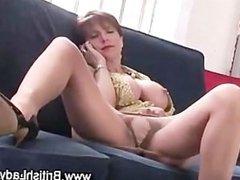 Mature femdom fetish slut fingering
