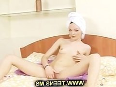 Masturbation after the shower