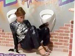 Watch fetish gloryhole get babe wet