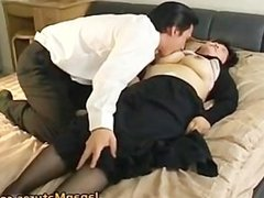 Japanese mature chick has hot sex part5