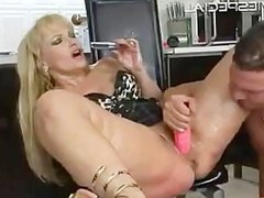 Mature MILF gets asshole fucked part5