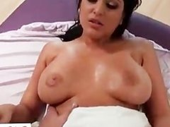 Busty brunette getting her pussy fucked part4