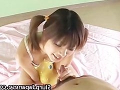 Rika Hayama takes a cock in her mouth part5
