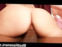 Sexy girl craves a huge black cock