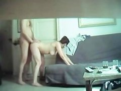 Brunette Amateur Babe Hidden Cam Sex