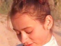 Natasha slovak teen showing pink