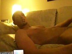 Jayden Grey wanking his amazing gay tube part5