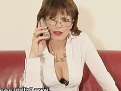 Lady Sonia gets cumshots during threesome