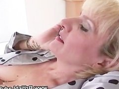 British mature Lady Sonia gets off