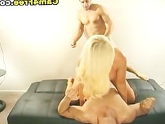 Big Tits Blonde Homamade Threesome HD
