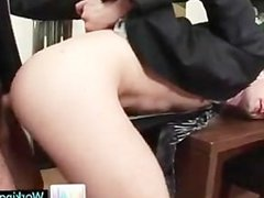 Cameron getting his tiny gay ass filled with fat cock part1