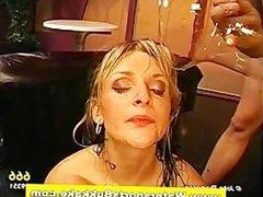 Golden shower fetish fuck and piss bukkake