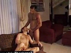 Young men in Rough sex