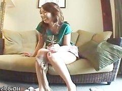 Horny Yui Kazuki sucking some fine part6