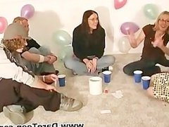 Sexy chicks play truth or dare sexgame