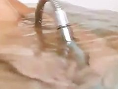 sexy naked horny coed in bath