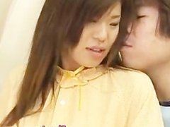 Wild whore Megu Hayasaka performs oral part1