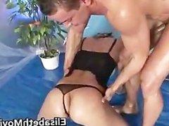 Slutty whore sucks some nice cock part1