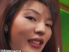 Two hairy Japanese lesbians licking each part6