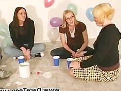 Truth or dare sex game with hot chicks