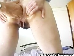Kinky babe gets her asshole fisted