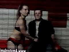 Real amateur euro prostitute with customer