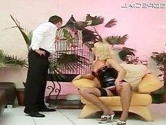 Slut in stockings sucking cock part4