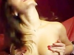 gorgeous brunette masturbates on a couch(4).flv