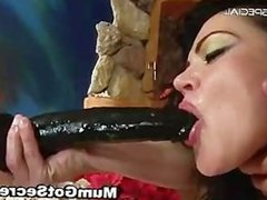 Amazing pierced pussy MILF sucking part5