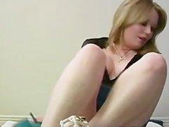 Mistress Cummy Feet Cuckold Humiliation