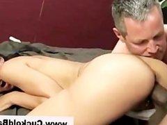 Interracial loving brunette gets fucked