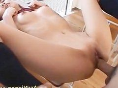 Cum Dripping Shaved Teen Pussy part4
