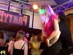 Cheeks in club fucked strip dancer