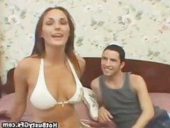 Cheating Bikini GF Sucking