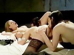 Delicious kinky lesbians lezdom sex