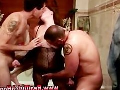 Amateur dutch hooker gets a facial in reality threesome