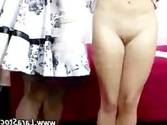 Sexy stockings lesbians get nasty