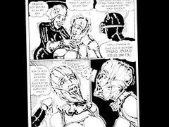 Brutal Sex BDSM Orgy Comic