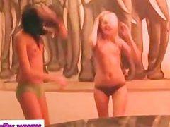 Disco chicks stripping