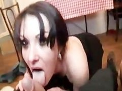 Melyna, Gorgeous milf fucked in a threesomes