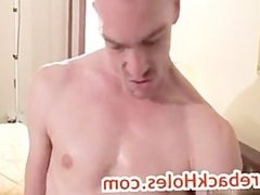 Brock gets his anus rimmed by fred mayer part3
