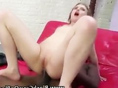 Big cock loving slut gets a facial