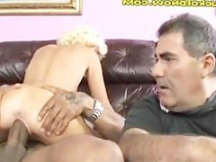 Hung Black Buck in Blonde Babes Pussy